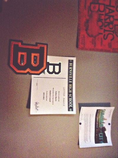 My first letter Lettering Letterman S. Harris Photography Blaze Nation