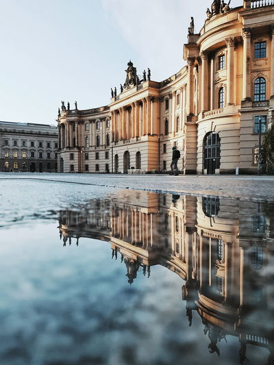 Reflection Water History Architecture Travel Destinations Standing Water Ancient Built Structure Symmetry Outdoors Reflecting Pool Day City