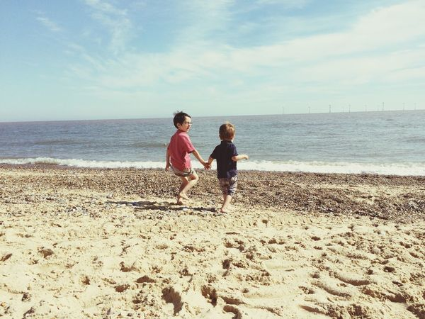 Children Photography Beach Photography Children IPhoneography Holding Hands Sibling Love