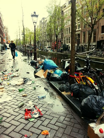 After King's day - Amesterdam Amesterdam Travelling ✈ Interrail 2015 Redlightdistrict Kingsday 2015 Kingsday The Day After Dailyroutine