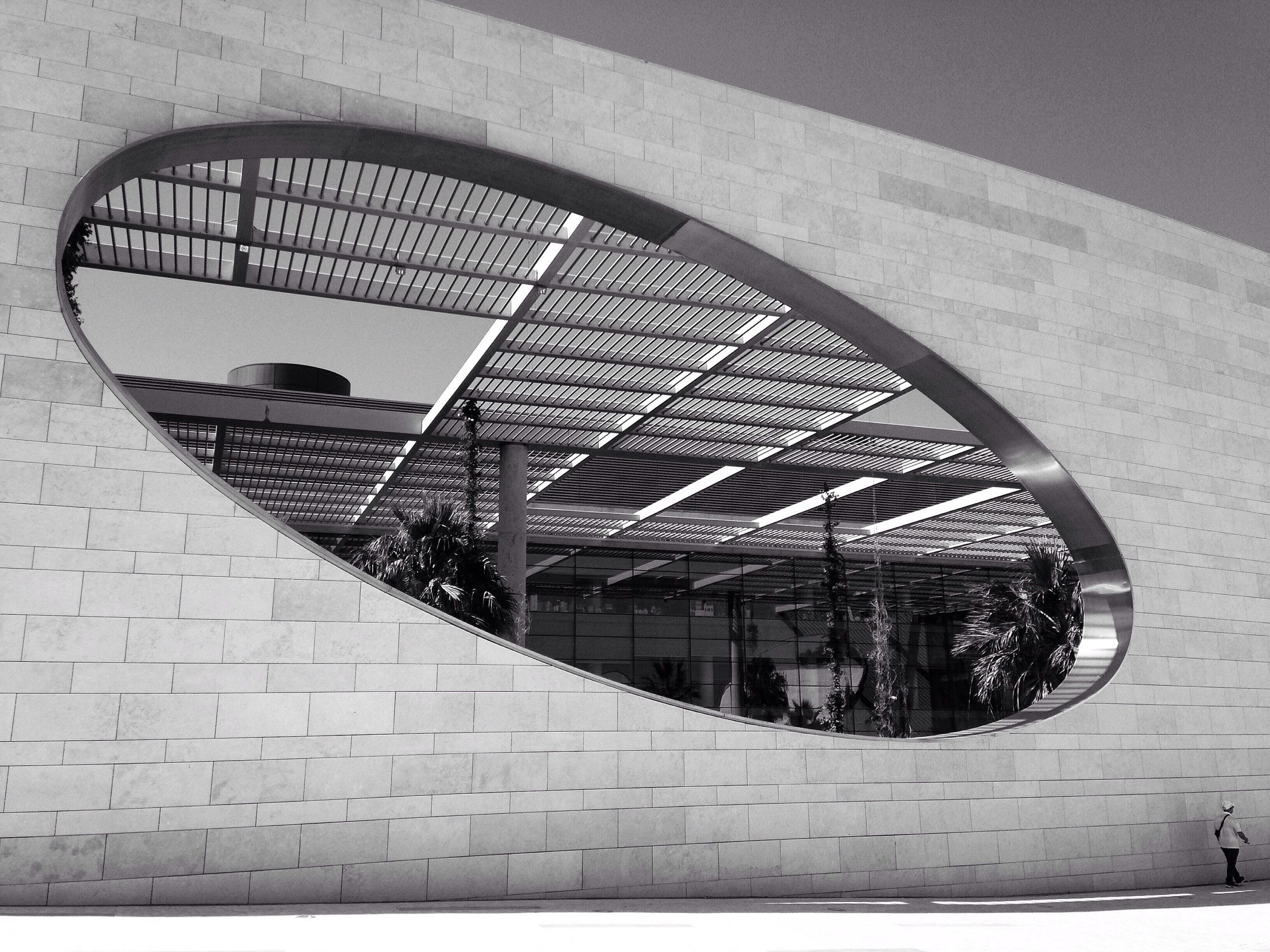 built structure, architecture, day, no people, stationary, geometric shape