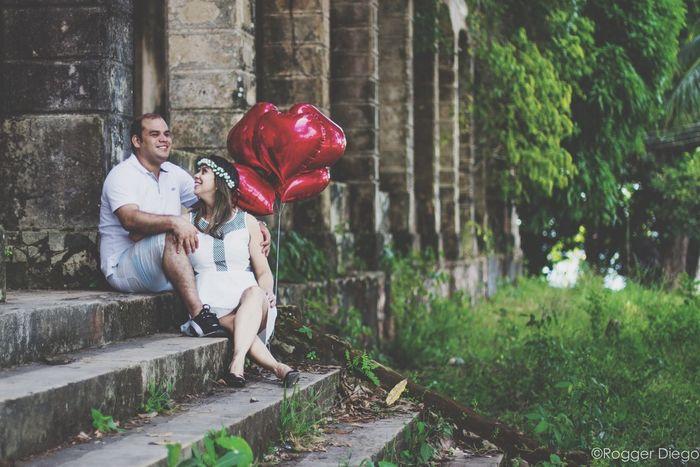 Noivos Casal Ensaio Fotografico Lindos