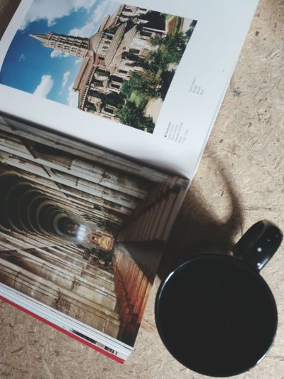 EyeEm Selects High Angle View No People Indoors  Close-up Mug Book
