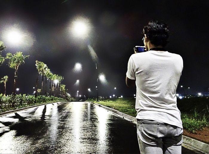 Shadow Shadows Shadows & Lights Night Nightphotography Streetphotography Street Light with my Son at Bsd Bsd City Tangsel Banten People Watching People Photography after Rain Bestoftheday