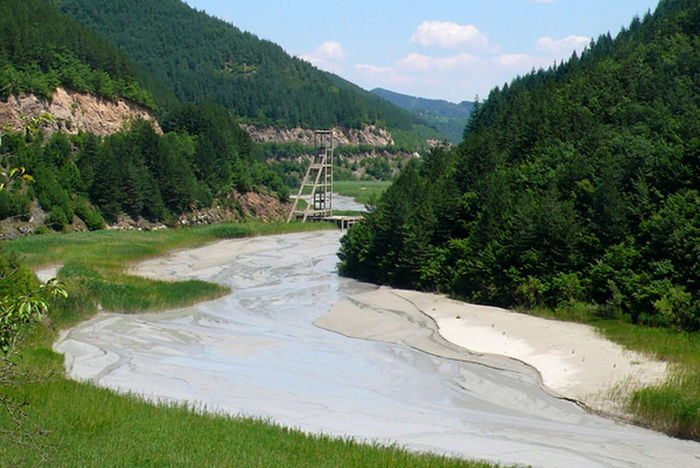 Rhodopes Beauty In Nature Bulgaria Day Forest Golf Course Grass Growth Landscape Lush Foliage Mining Mountain Mountain Range Nature No People Outdoors River Scenics Sky Tree Water