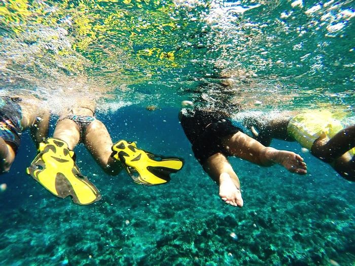 I sea you 🌊 Underwater Photography TravelPhilippines Dagat