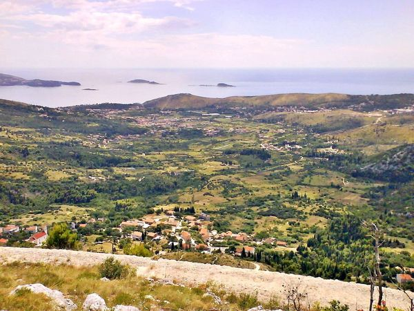 View on the sea Outdoors Sky Sea And Sky Adriatic Sea Sea View From Mountain Cavtat , Croatia Landscape Summertime No People Outdoor Photography Beautiful Nature Enjoying The View
