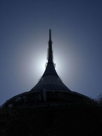 Czech Republic Architecture Building Exterior Built Structure Clear Sky Jested Liberec No People Sky