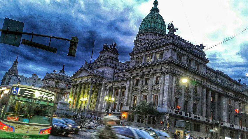 Avda. Callao Y Avda Rivadavia Buenos Aires Congreso Congreso Nacional EyeEm Buenos Aires Buenos Aires, Argentina  Congreso De La Nacion Being A Tourist Argentina Streetphotography