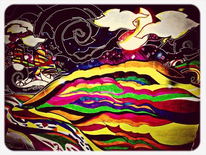 "Some art of mine... ""Dreamscape"" Art abstract Dreamscape"