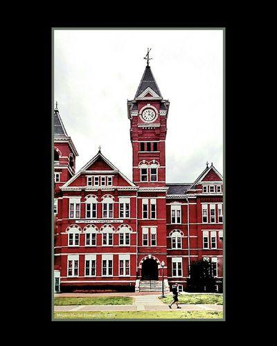 'Samford Hall, Auburn University' Samford Hall Auburn University Auburn, Alabama College Town College Life Colour Of Life College Grounds College Campus Campus Grounds Android Photography Snapseed