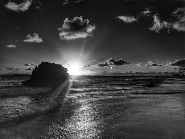 """""""Your all I ever wanted..."""" Light And Shadow Life Is A Beach Beach Life Black And White EyeEm Best Shots Eye4photography  Ocean Dream Sunset And Clouds  Sunset_collection Monochrome"""