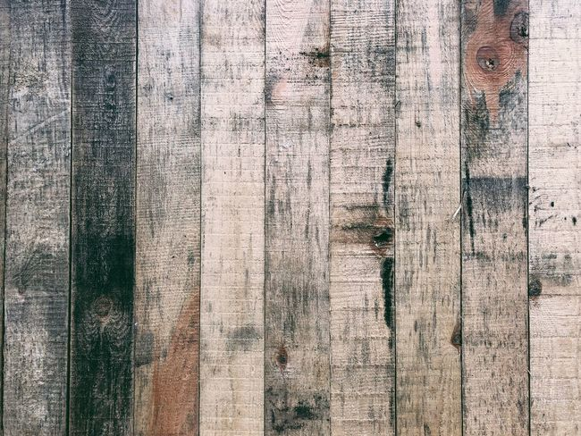 Wooden Plank Wood - Material Textured  Backgrounds Pattern Full Frame Wood Grain Hardwood