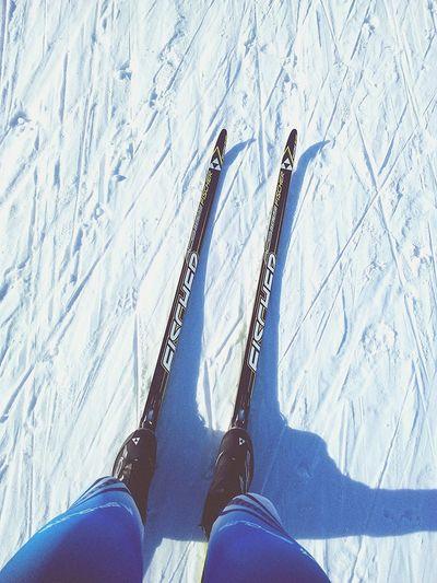 лыжи, это мое родное) First Eyeem Photo