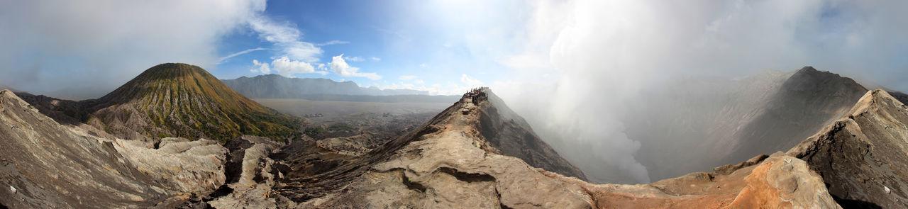 360 Panorama Bromo Bromo Mountain INDONESIA J Jawatimur Tengger Tenggersemeru Volcano