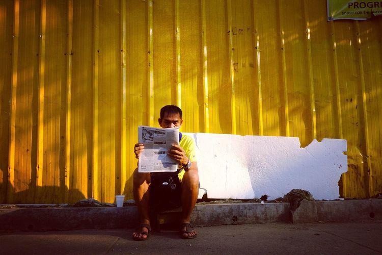 The Street Photographer - 2018 EyeEm Awards Paint The Town Yellow