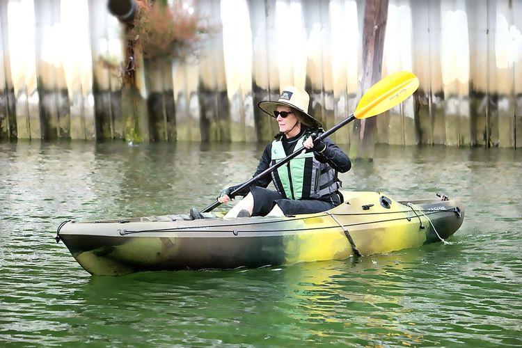 Kayaking the Albion River Thenewretirement Over50 The Great Outdoors - 2018 EyeEm Awards Water Oar Nautical Vessel Kayak Headwear Adventure Sport Activity River Paddling Life Jacket Rowing The Traveler - 2018 EyeEm Awards Summer Sports
