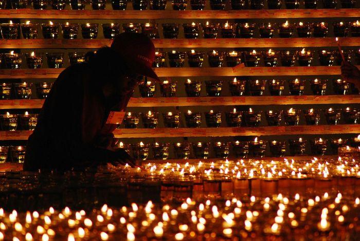 Pattern Night Oil Lamp Vesak Anniversary Celebration Society Religion Colour Of Life Festival Season