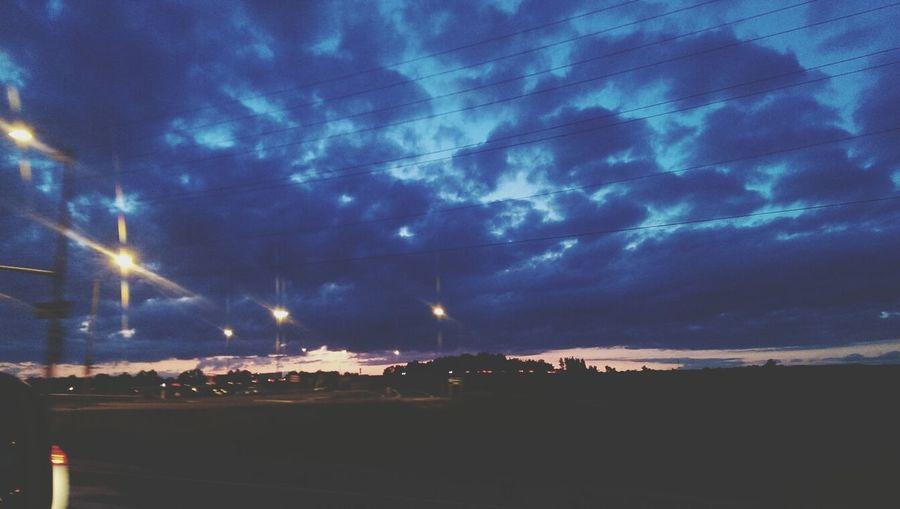 Cloud Porn Sunset Silhouettes Long Drives Nature