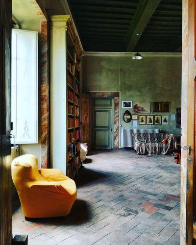 La biblioteca del Conte Library Villa Ancient Architecture Room Book Silence Lucca Italy Barga Architecture Built Structure