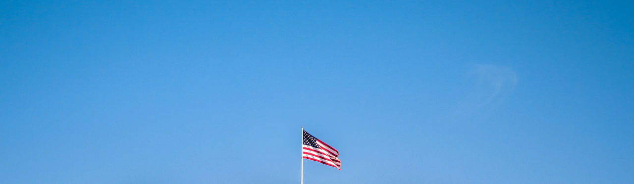 Simplicity Simple Photography Simple Flag American Flag Newyorkcity Blue Blue Sky New York