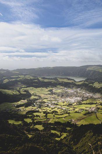 Furnas Azores Azores Sao Miguel- Azores Furnas Furnas(Azoren) Landscape Vulcanic Landscape Vulcano Island Island Islandlife Volcanic Crater Nature Green Green Color Green Fields Greenfield Dronephotography Drone  Height Photography