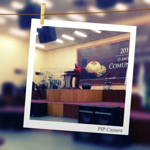 Recebendo o novo desse ano! 2014 o ano da Comunhão. DozeDiasdeclamor 12diaspara12mesesdoano Comunhao Visao 2014 church