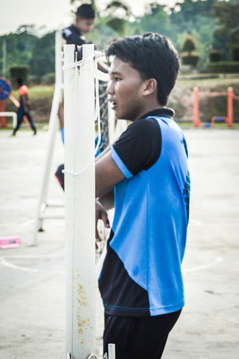 Takraw 1. Young Adult One Person Real People Lifestyles Young Men Men Only Men Standing Adult Day People Outdoors Adults Only Aerosol Can Volunteer One Man Only Sportsman Standing Macho Happiness EyeEmSelect Portrait The Week On EyeEm EyeEmNewHere EyeEm Selects