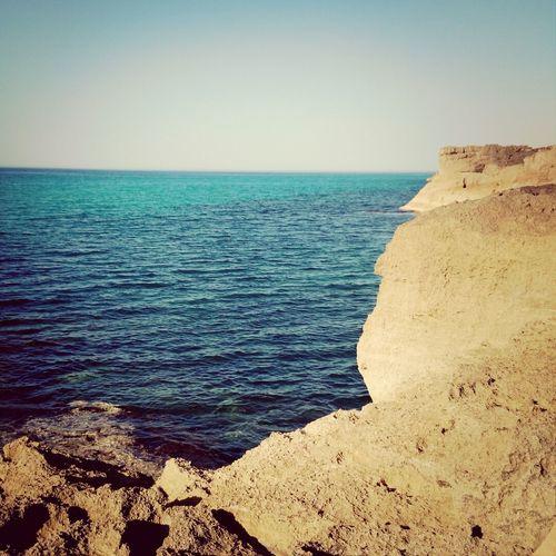 Libya Tripoli Beach Day Blue Sea Seaphotography