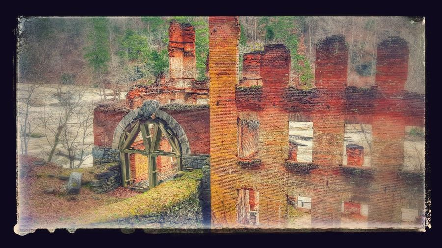 Sweetwater Creek River Riverside River Collection River Walk Old Buildings Ruins Water_collection Water Water Reflections