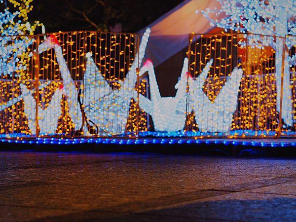 Tokyo Nihonbashi Tower Outdoors Japanese Photography City Nighttime Night City Night View Nightshot Night Photography Nightphotography Illuminations Illuminationphotography Illumination Olympus Om-d E-m10 Tokyo,Japan Tokyo Night Night Japanese Style Illuminated Nihonbashi Tsuru Lighting Equipment Crane