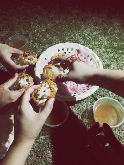 Bhuto Park Love Love Love.♥♥♥ Yummy♡ Food Food And Drink Hand Real People Holding Freshness