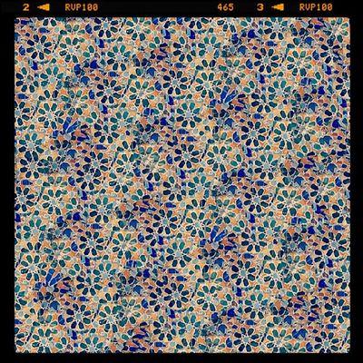Azulejos Gaudi Texturizado em Gimp