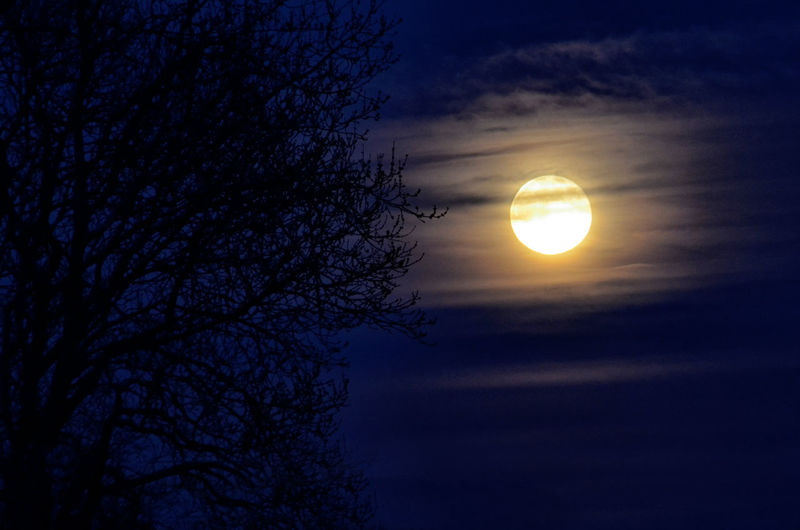 Full moon in