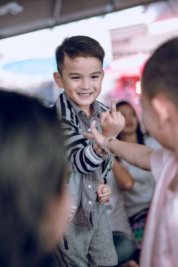 Boys Child Childhood Happiness Lifestyles Men People Portrait Smiling