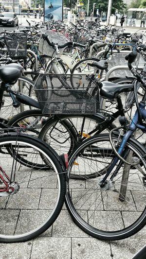 Bycicle Streetphotography Street Bike Bikes Bycicles Bikesinthecity City City Life Day No People Parking Parked Parked Bikes Parked Bycicles Outdoors Leipzig Hauptbahnhof Leipzig Germany The Street Photographer - 2018 EyeEm Awards The Still Life Photographer - 2018 EyeEm Awards