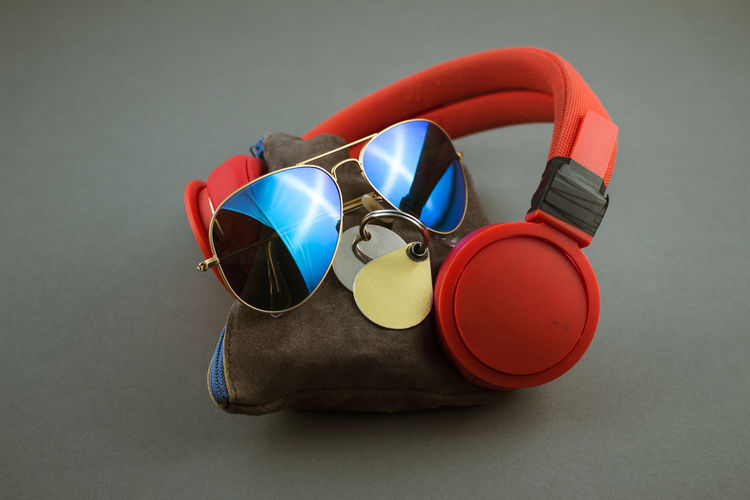 Leather Music Indoors  Love Crafts Multi Colored Still Life Studio Shot Sunglasses EyeEmNewHere Analogue Sound