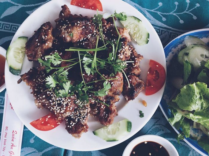 Barbecue for health. Feast Foodpornasia Food Foodporn VSCO Vscogood Vscoa5 Vscocam Barbecue Grill Barbecue Food And Drink Food Ready-to-eat Plate Freshness Serving Size Healthy Eating Bowl Temptation Indulgence No People Meal Still Life Vegetable Close-up Directly Above Wellbeing Indoors  Table High Angle View