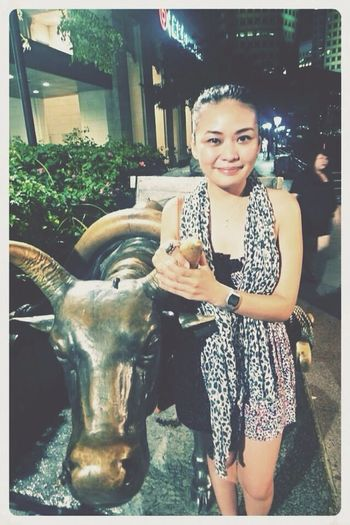 Posing with a Carabao. Don't ask me why. Lol. Taking Photos That's Me Cheese! Enjoying Life