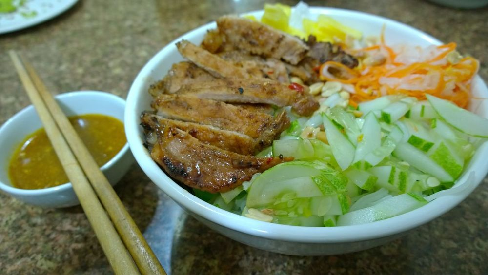 Food Grilled Meat Meat Noddle Rice Noodle  Salad Vietnam Vietnamese Food First Eyeem Photo