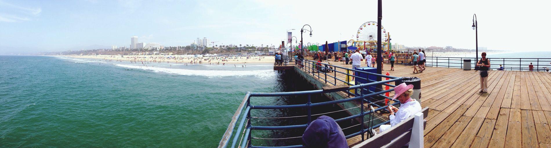 Santa Monica Pier Panorama