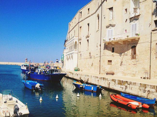 Italy Monopoli Trip Photography Sun Boats Sun_collection EyeEm Italy Sea And Sky Sea First Eyeem Photo