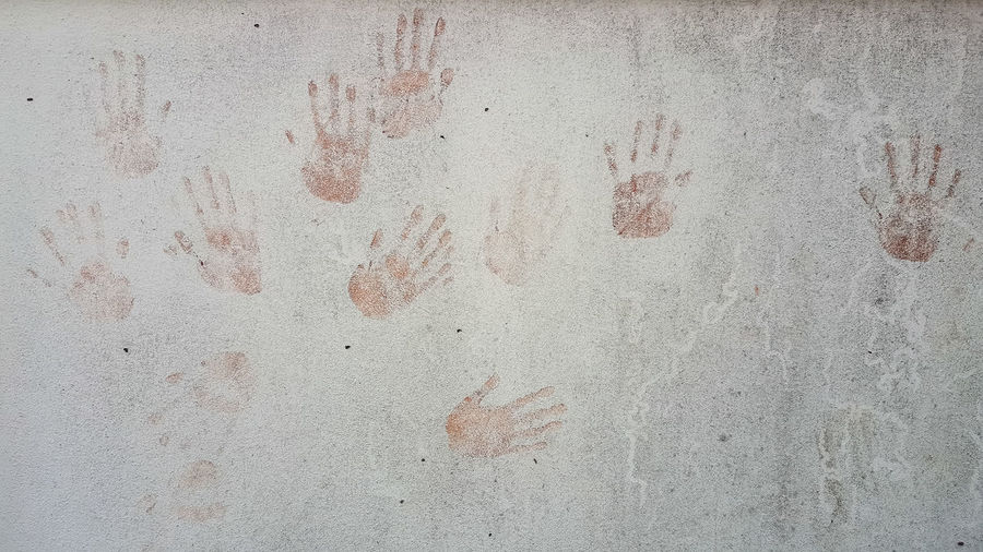 Architecture Backgrounds Built Structure Close-up Concrete Day Deterioration Dirty Full Frame Gray Handprint Messy No People Old Paint Pattern Rough Rusty Stained Textured  Textured Effect Wall Wall - Building Feature Weathered