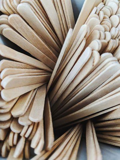 Full frame shot of wooden sticks