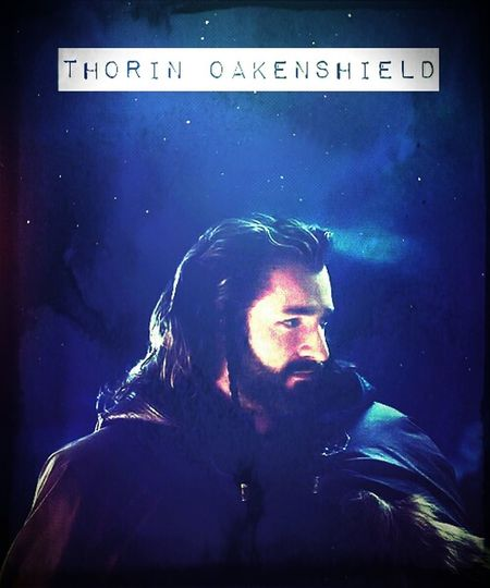 There is one, who I can follow... There is one, who I can call King ♥ The Hobbit ♥ Thorin Oakenshield The King Under The Mountain
