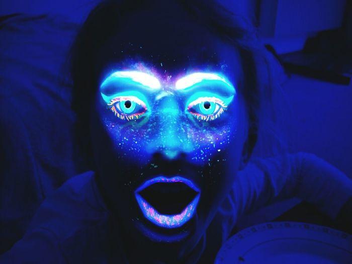 Blue Face Glow Glowing Blue Glow Green Glow Multi Colored Faces Of EyeEm EyeEm Best Shots EyeEm Gallery EyeEm Best Edits EyeEmBestPics Eyeemphotography Facepaint EyeEm Getty Collection Getty X EyeEm Getty Gettyimages Getty Images Getty & Eyeem
