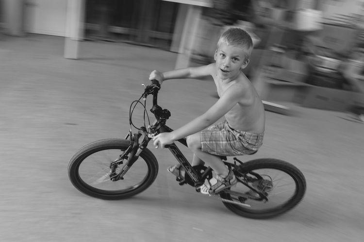 Authentic Moments Eye4black&white  Childhoodunplugged Familydocumentaryphotography Candid Photography Antwerp, Belgium Bicycle