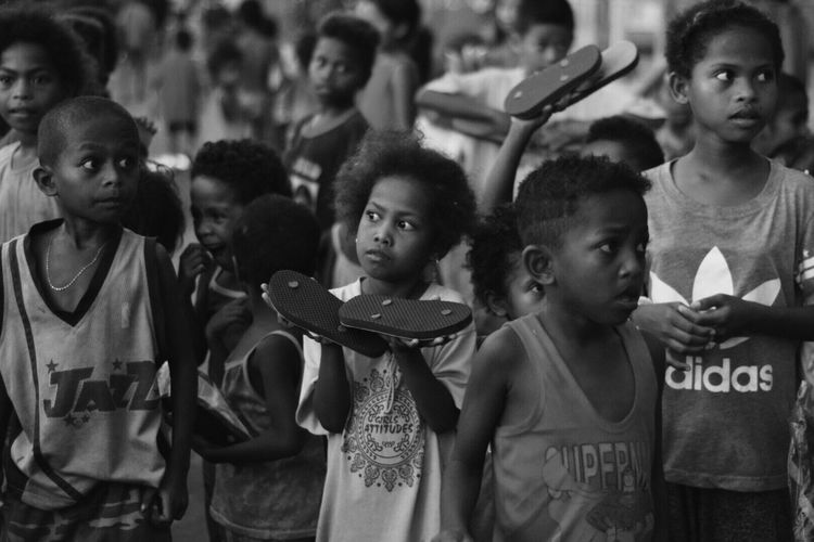 Aetas. Childhood Girls Large Group Of People Boys Real People Standing Togetherness Outdoors Child Friendship Day Crowd People Aetas Philippines BambanTarlac Eye Em Philippines Children Kidsphotography The Week On EyeEm