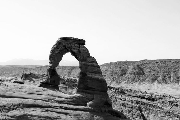 Black And White Friday Rock Formation Rock - Object Nature Tranquility Landscape Day Outdoors Beauty In Nature Clear Sky No People Arid Climate Travel Destinations Desert Scenics Sky