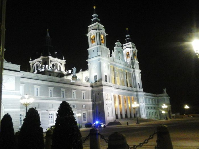 The queen Night Illuminated Architecture Built Structure Government Madrid Spain EyeEmNewHere